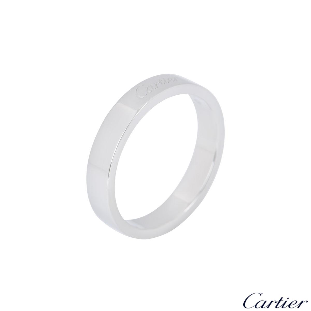 Cartier Platinum C De Cartier Wedding Ring